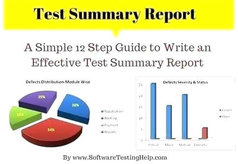 Bug Summary Report Template