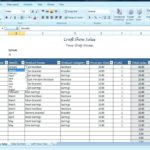 Sales Lead Report Template