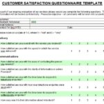Customer Satisfaction Report Template