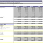 Financial Reporting Templates In Excel
