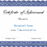 Pages Certificate Templates