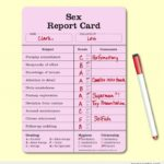 Boyfriend Report Card Template
