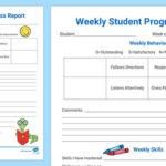 Educational Progress Report Template