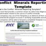 Eicc Conflict Minerals Reporting Template