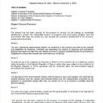 Environmental Impact Report Template