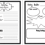 First Grade Book Report Template