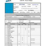 Welding Inspection Report Template