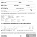 Health And Safety Incident Report Form Template