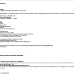 Project Status Report Email Template