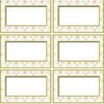 Blank Food Label Template