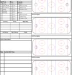 Blank Hockey Practice Plan Template