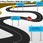 Blank Road Map Template
