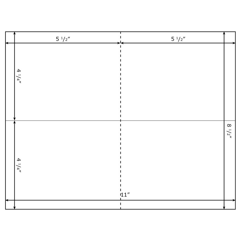Free Blank Postcard Template For Word