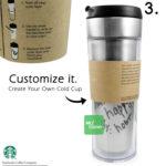 Starbucks Create Your Own Tumbler Blank Template