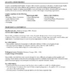 Resume Templates Harvard