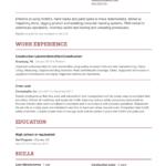 Resume Templates Indeed