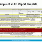 8d Report Template Word Download