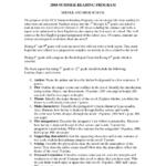Book Report Template 7th Grade
