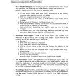 Book Report Template 9th Grade