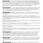 Book Report Template for 7th Graders