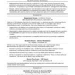 Experienced Rn Resume Templates