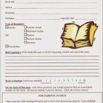 Grade 9 Book Report Template