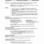 Texas A&M Resume Templates