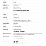 Report Template Sample In Word
