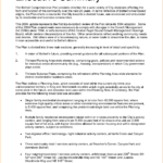 Report Template With Executive Summary