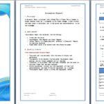 Report Template Microsoft Word