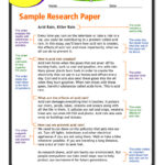 Research Report Template 5th Grade